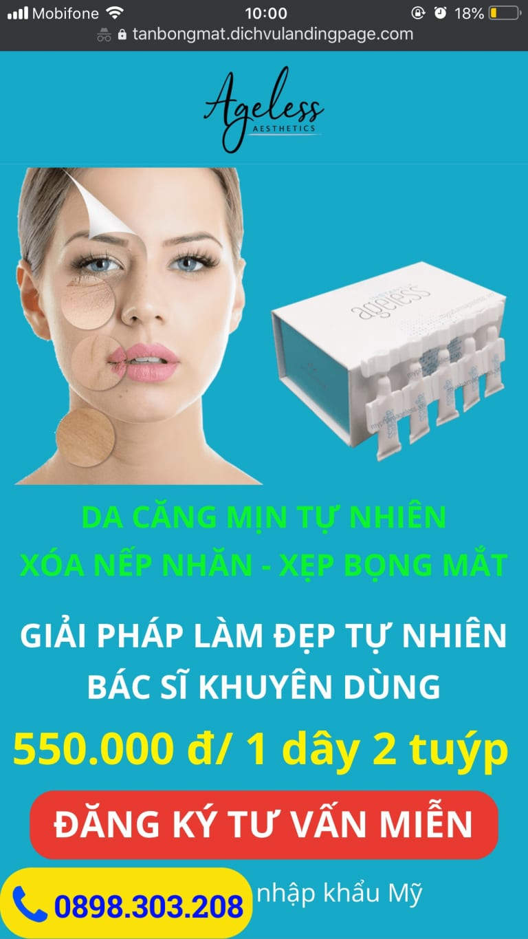 dịch vụ thiết kế landing page shop online